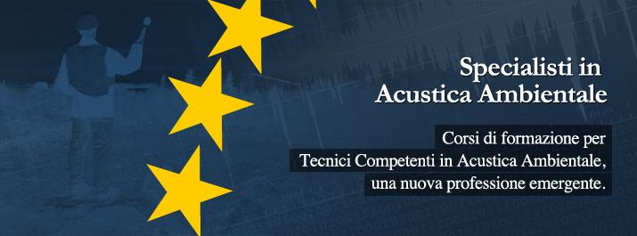 Nuovo Corso di formazione per Tecnici in Acustica Ambientale 2019-20